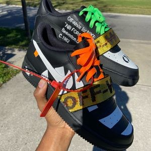 """Men's Nike AF1 """"off-white"""" V2"""